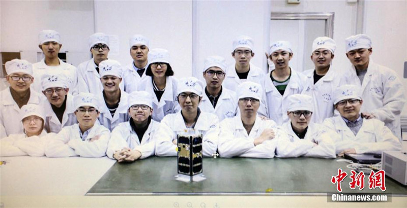 Technikstudenten aus Harbin schicken Satelliten ins All