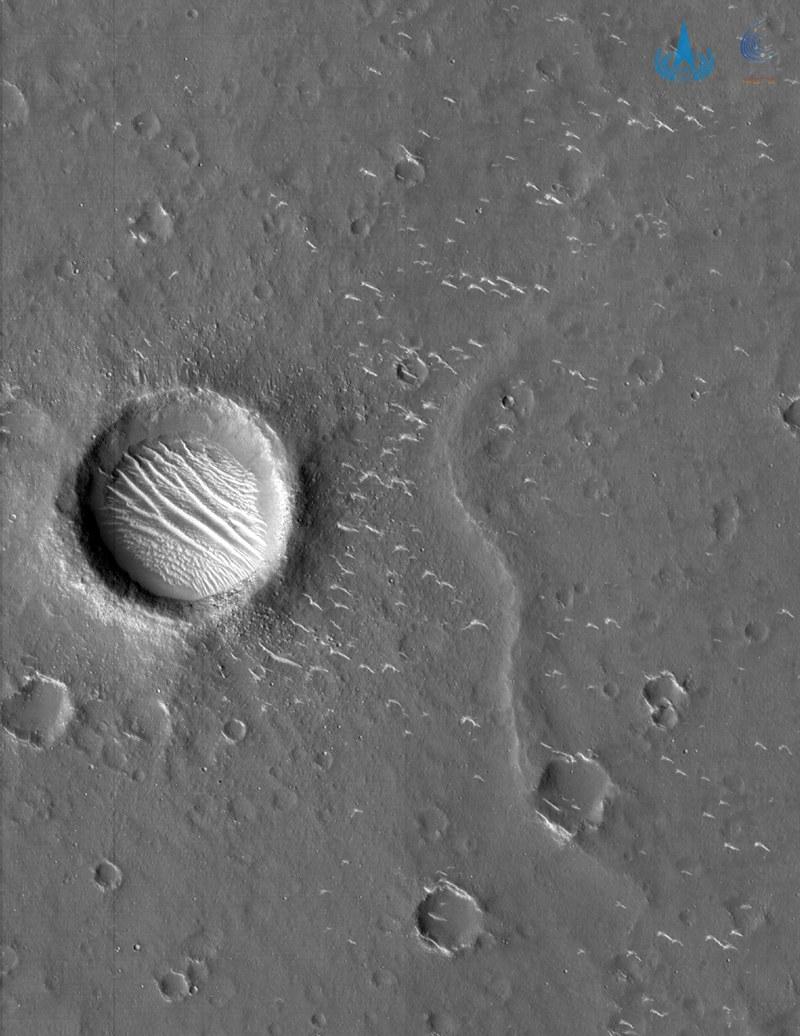 China zeigt erste hochauflösende Bilder des Mars