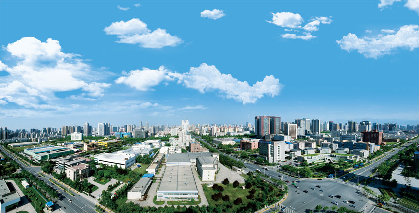 Landschaft der Xi'an Hightech-Zone (12)